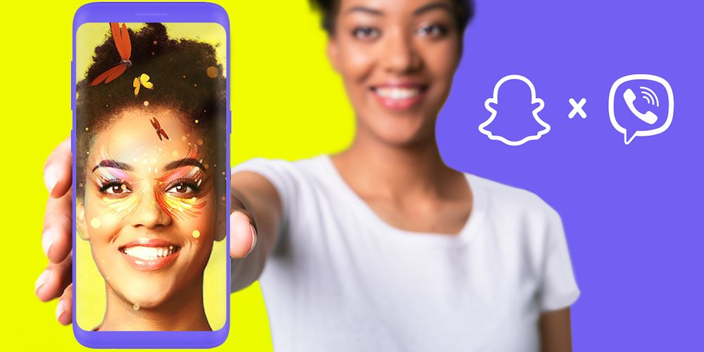 Rakuten Viber Partners with Snap to Bring AR Lenses to its Messaging Platform